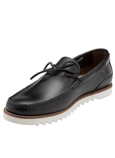 Hush Puppies %100 Deri Ayakkabı Siyah